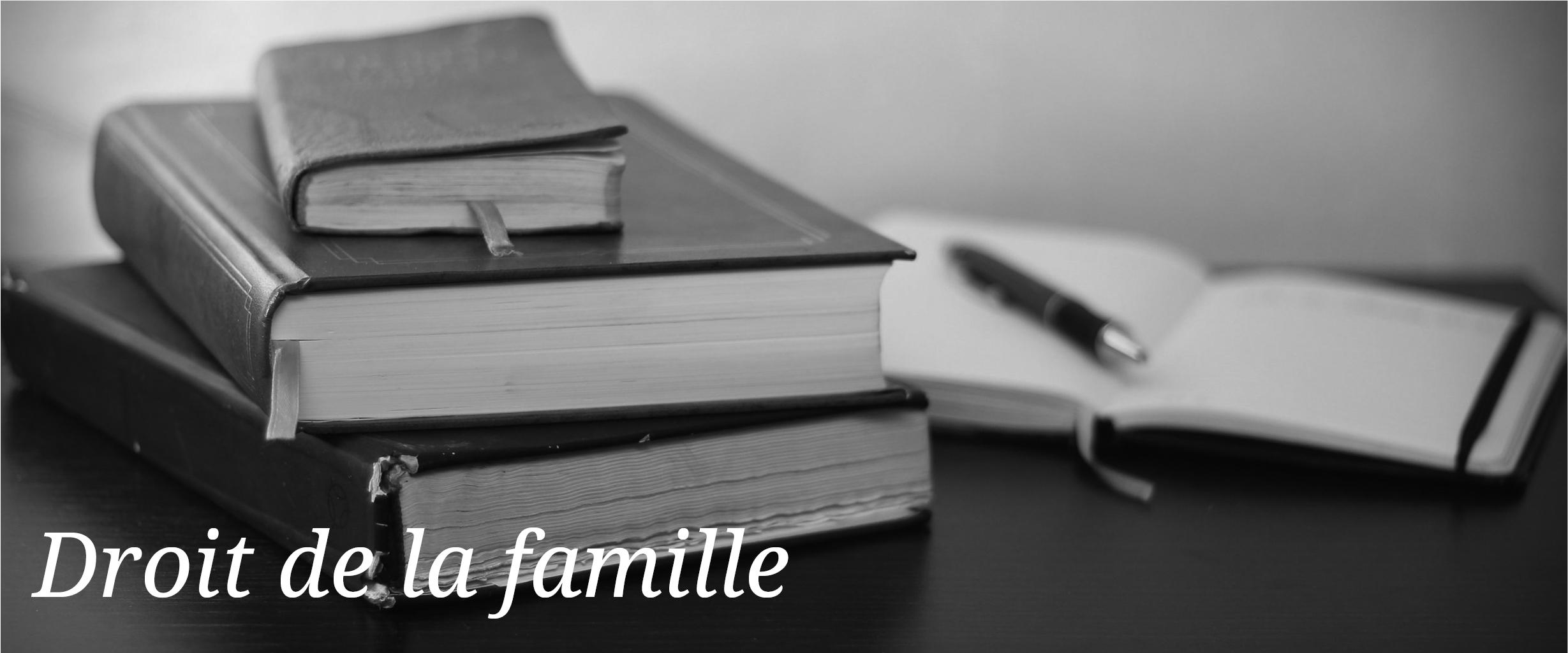 avocat secci - droit de la famille